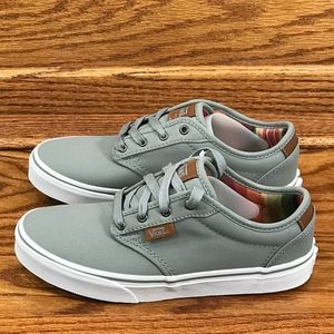 Vans Atwood DX Waxed Midgrey Shoes Size Youth 3.5